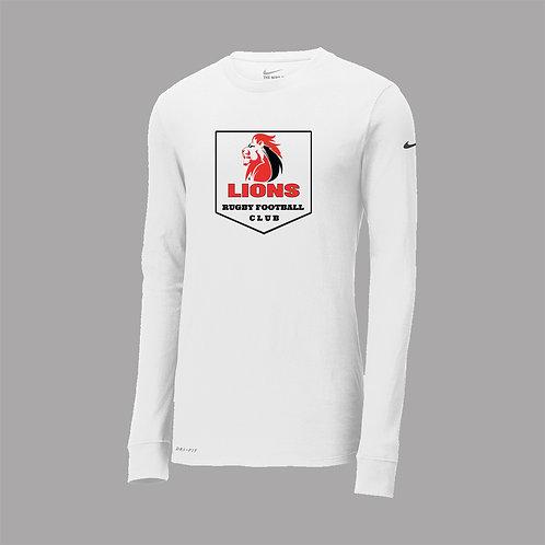 Lions Rugby Nike Dri-Fit Lg Slv T-Shirt