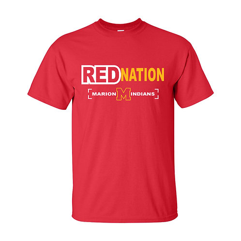 Marion Red Nation T-Shirt
