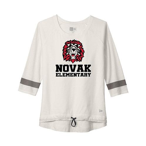 Novak Ladies New Era 3/4 Sleeve Tee