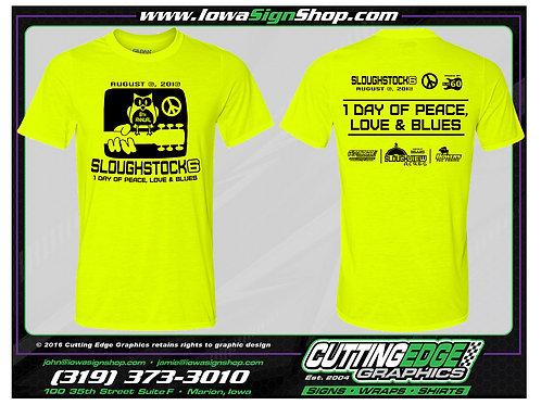 Unisex Safety Green Dri-Fit T-Shirt