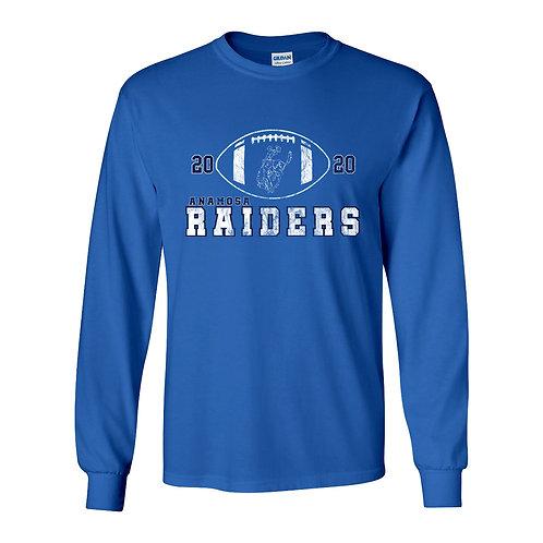 Raider Football Gildan Lg Slv T-Shirt