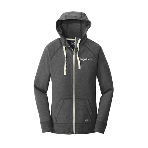 MercyPeds New Era Sueded Cotton Blend Full Zip Hoodie