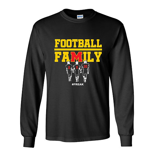 Marion Football Lg Slv T-Shirt