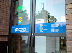 Commercial Federal Door Graphics