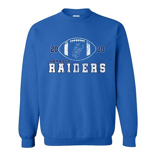 Raider Football Gildan Crew Sweatshirt
