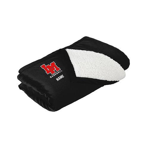 LM Baseball Sherpa Blanket