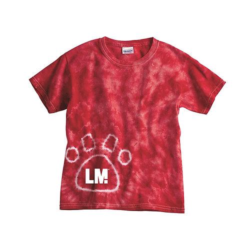 Linn Grove Tie Dye Paw T-Shirt
