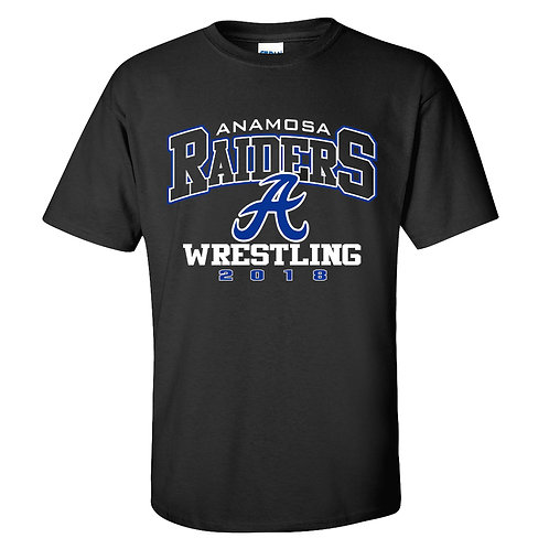 Raider Wrestling Gildan T-Shirt