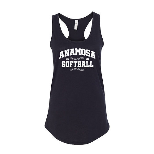 Anamosa Softball Next Level Racerback Tank