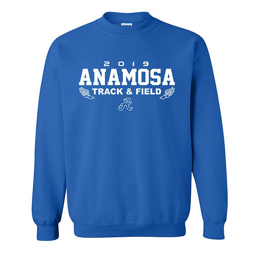 Anamosa Track Crew Sweatshirt