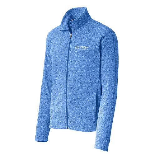 ACC Heather Microfleece Full Zip Jacket