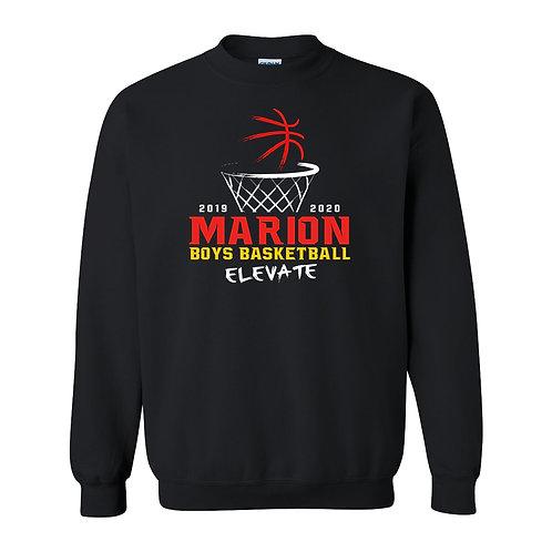 Marion Boys BB Gildan Crew Sweatshirt