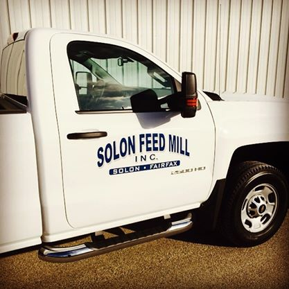 Solon Feed Mill Truck Graphics
