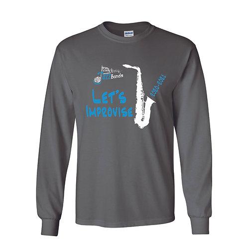 Anamosa Jazz Bands Lg Slv T-Shirt