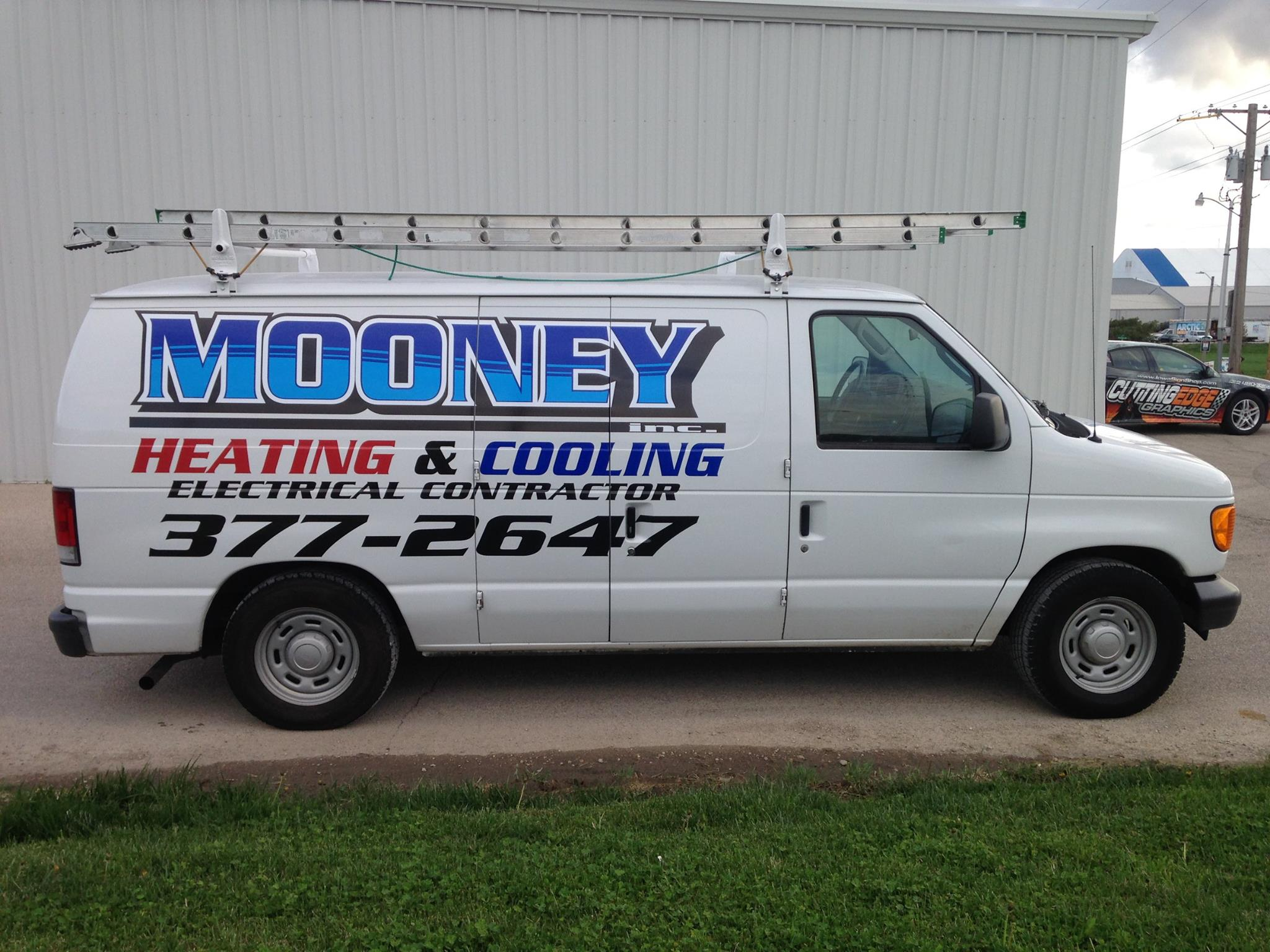 Mooney Heating Van Graphics