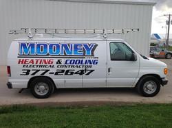 Mooney Heating Van Graphics