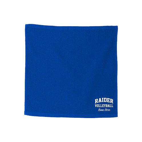 Raider Volleyball Rally Towel