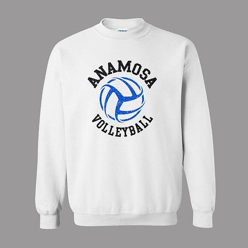 AVC White Crew Sweatshirt