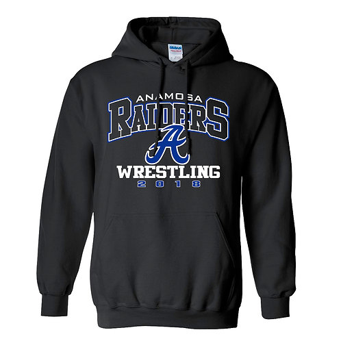 Raider Wrestling Hoodie