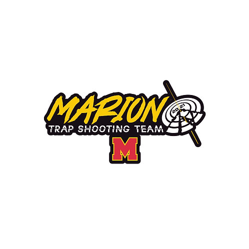 Marion Trap Shooting Decal