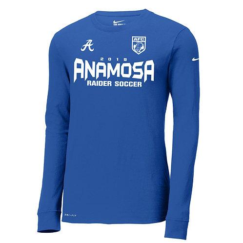 Anamosa Soccer Nike Dri-Fit Lg Slv Tee