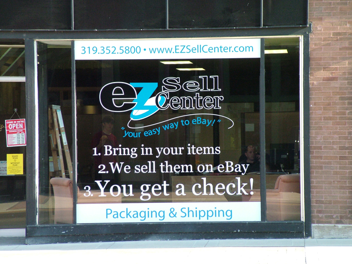 EZ Sell Center Window Graphics
