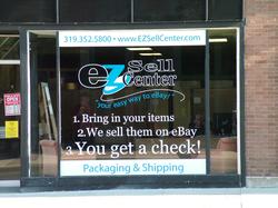 EZ Sell Center Window Graphics
