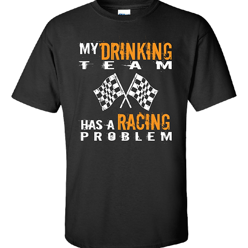 My Drinking Team T-Shirt