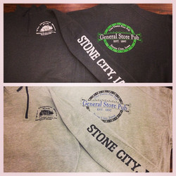 Screen Printing - Stone City 1/4 Zip