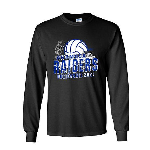 Raider Volleyball Gildan Lg Slv T-Shirt