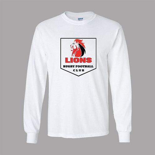 Lions Rugby Gildan Lg Slv T-Shirt