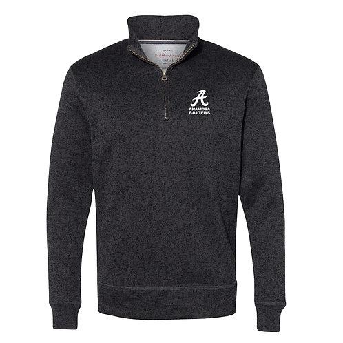 Raiders Vintage 1/4 Zip Sweatshirt