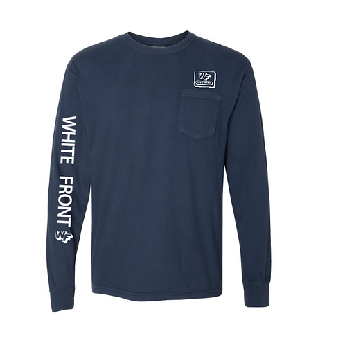 WF Comfort Colors Pocket Lg Slv T-Shirt