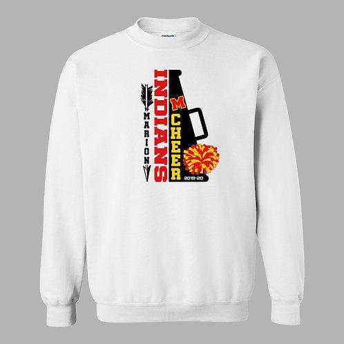 Marion Cheer Crew Sweatshirt