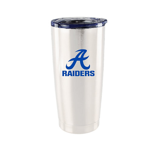Raiders 20 oz. White Viking Tumbler