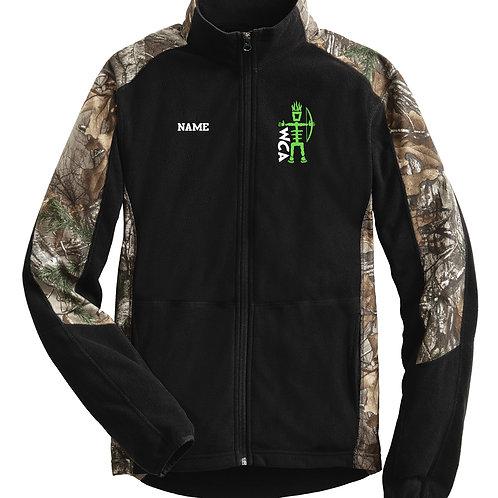 WCA Camo Fleece Jacket