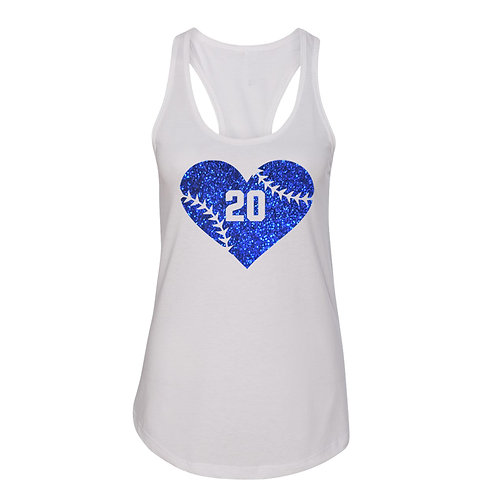 Raider Softball Fan Tank