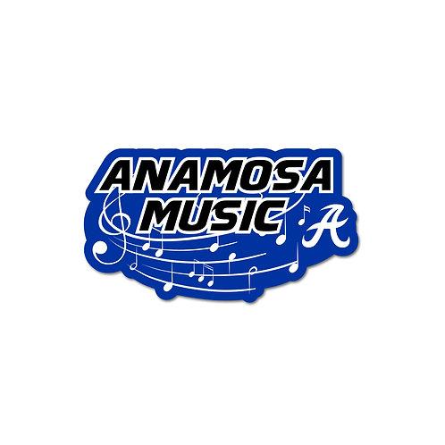 Anamosa Music Decal