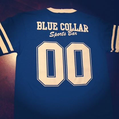 Screen Printing - Blue Collar Jersey