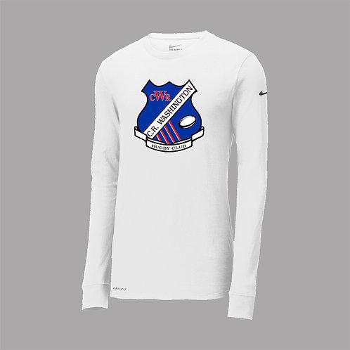 CR Wash Rugby Nike Dri-Fit Lg Slv T-Shirt