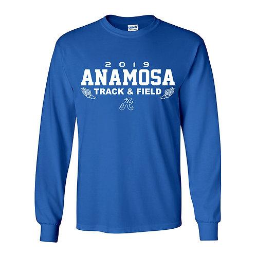 Anamosa Track Lg Slv T-Shirt