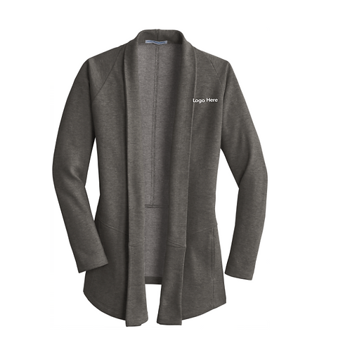 MercyBP Ladies Interlock Cardigan