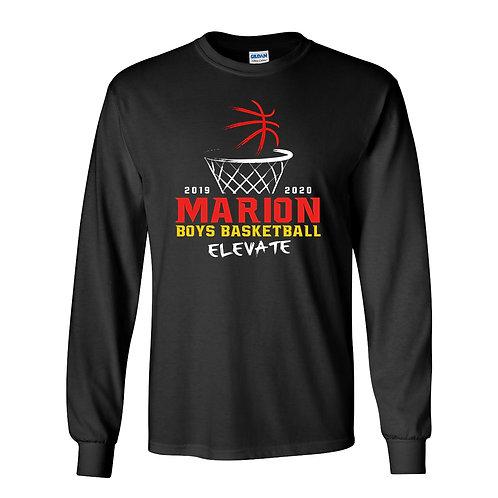 Marion Boys BB Gildan Lg Slv T-Shirt