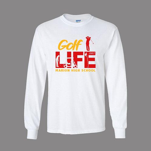Marion Golf Gildan Lg Slv T-Shirt
