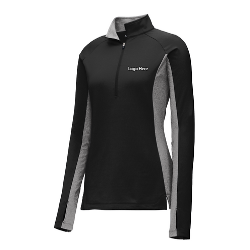 MercyURO Sport-Tek Stretch Contrast 1/2 Zip