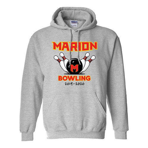 Marion Bowling Gildan Hoodie