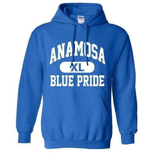 Anamosa Blue Pride Hoodie