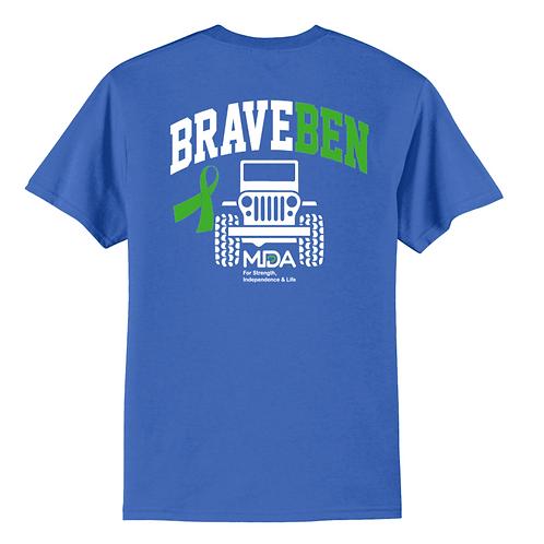 Brave Ben 50/50 T-Shirt