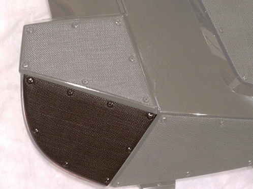 PO-117 Side Front Bottom Vent- RMK Pro- Pair