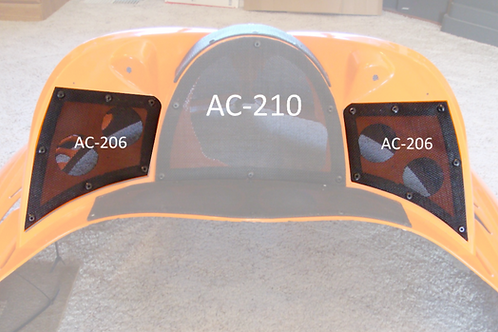AC-206 Dash Vents- M Series- Pair